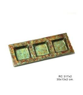 Entremesera cristal 35x13x2 cm
