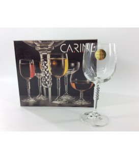 "S/6 Copas Vino""Carine"""