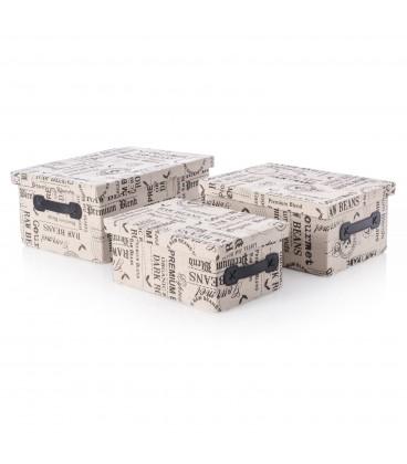 Caja tapizada - 3 tamaños