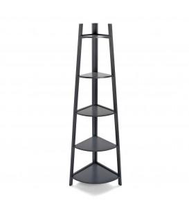 Estantería 5 baldas gris 37x37x151 cm