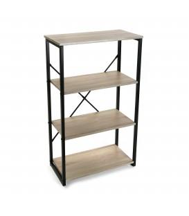 Estantería madera 61x29.5x100 cm