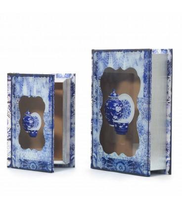 Caja libro dm-cristal 19x25x6 cm