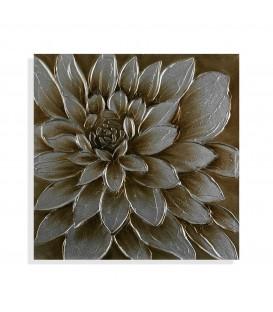 Cuadro flor 60x60x2,3 cm