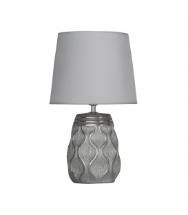 Lámpara mesa ondas 15x16x45 cm