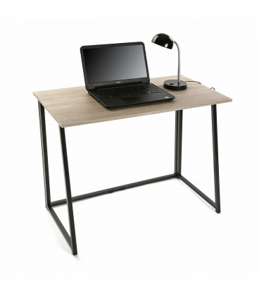 Mesa escritorio plegable 91,5x45x74 cm