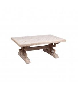 Mesa madera maciza 120x70x47 cm