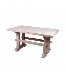 Mesa madera maciza 150x90x76 cm