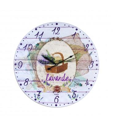 Reloj Lavanda 58 cm.