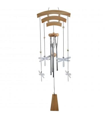Móvil tubos libélulas 85x20x6 cm