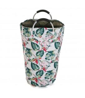 Cesto ropa Flowers 58x30x60 cm