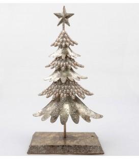 Árbol Navidad dorado estrella