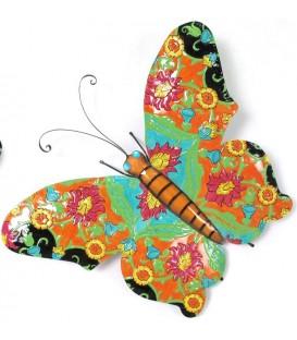 Mariposa multicolor 66x46 cm