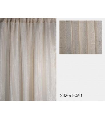 Cortina crema 140x260 cm