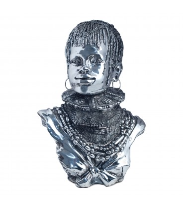 Figura Africano 33x24x16 cm