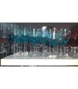 S/6 Copas Azul - 3 tamaños