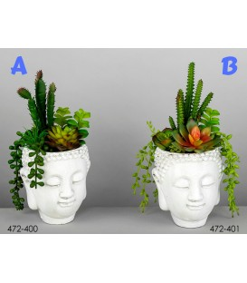 Maceta Buda mix cactus 26 cm
