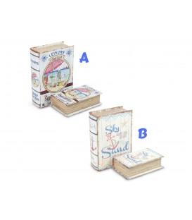 S/2 caja-libro - 2 modelos