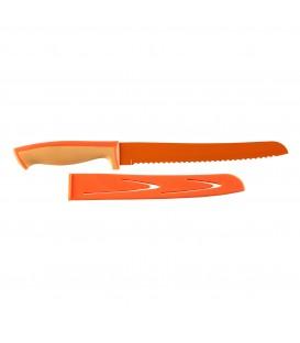 Cuchillo para pan con funda