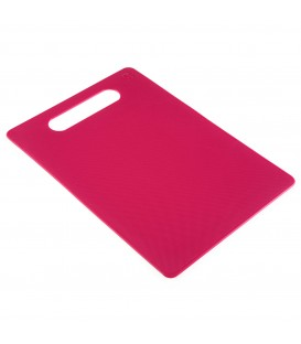 Tabla de corte rosa