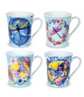 """S/2 mug """"Libélula"""" 10x12x9 cm"""