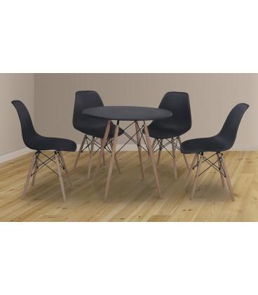Mesa comedor Dinamarca 75x80x80