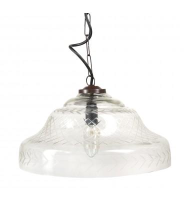 Lámpara techo cristal
