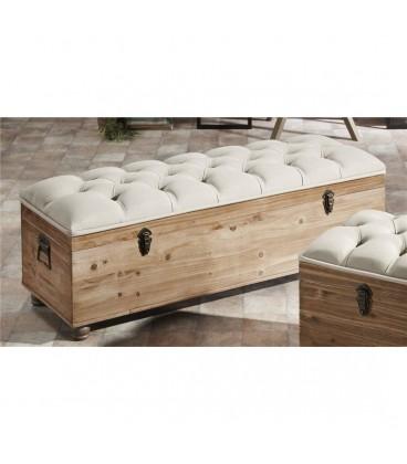 Descalzadora textil/capitoné madera