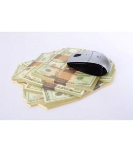 """Alfombrilla ratón 24x19 """"Dólar"""""""