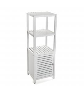 Mueble blanco c/estanterías