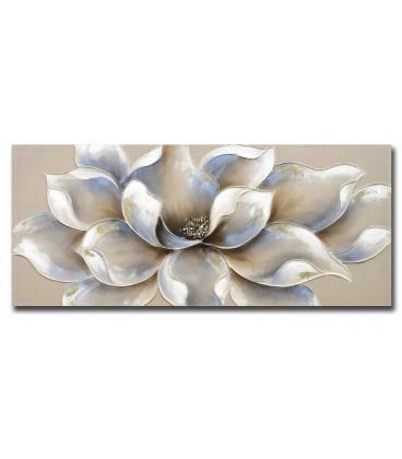 Cuadro Flor Grande 140x60 cm