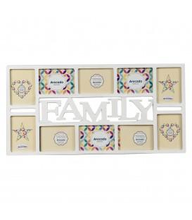 """Portafotos múltiple """"Family"""" 10x15/10"""