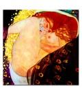 """Cuadro """"Danae"""" Klimt 60x60 cm"""