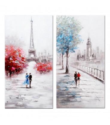 Pintura París (1) 60x3x120 cm