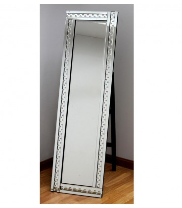 Espejo vestidor 40x150 cm bolitas espejo