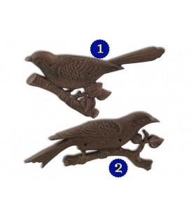 Pájaro adorno pared 20x25x1 cm