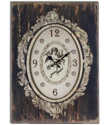 Reloj rec.50x70 cm. c/ángel