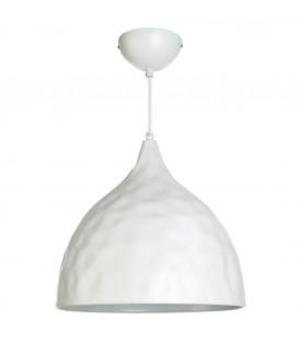 Lámpara techo blanco 38x38 cm